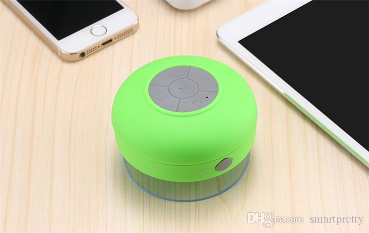 Altavoces portátiles impermeables Mini Inalámbrico Bluetooth Manos libres Baño Ducha Altavoces Todos los dispositivos Para Iphone Portátil Duchas Baño