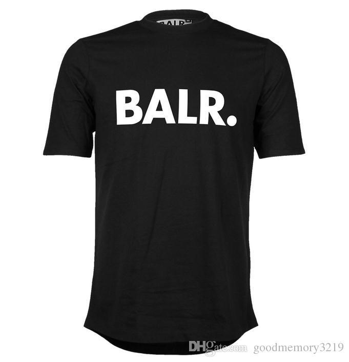 2016 ascenseur d'un t-shirt balr tops balr menwomen t-shirt 100% coton Soccer football sportswear gym chemises vêtements de marque BALR