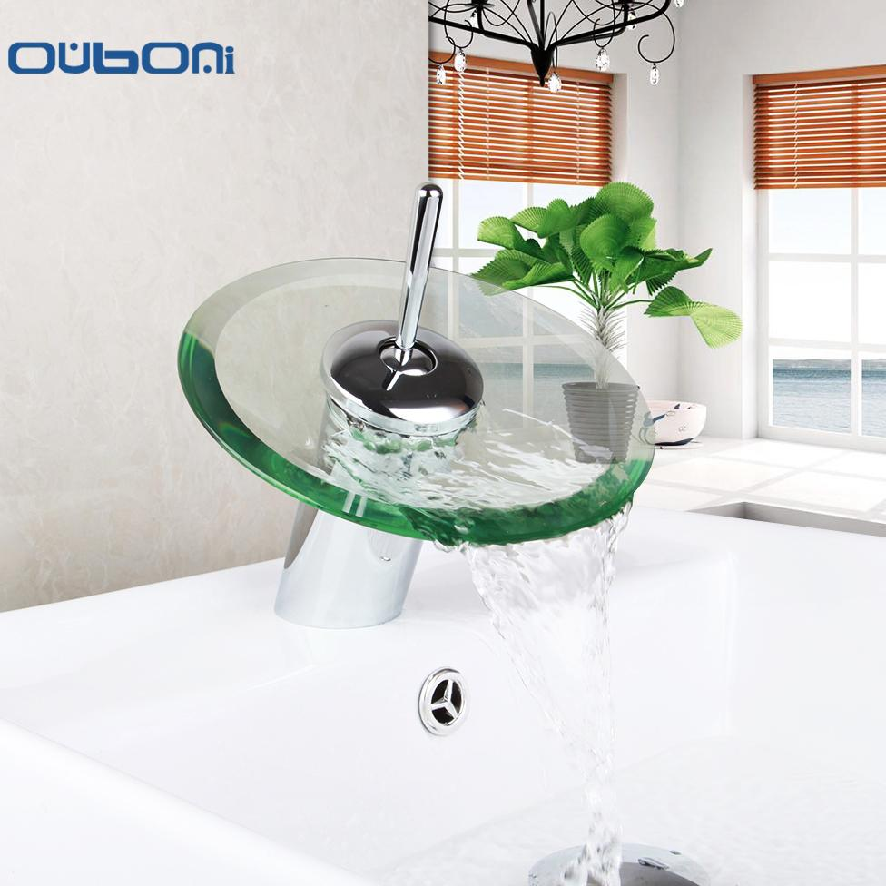 2018 Wholesale Ru New Arrival Waterfall Faucets Bathroom Basin Mixer ...