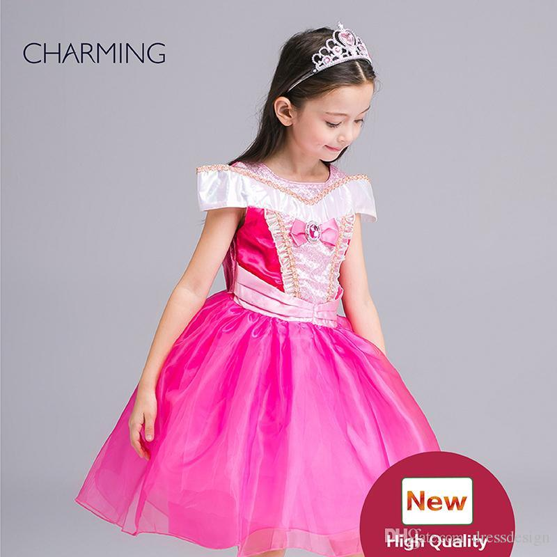 d8f50ab8490 Wholesale Birthday Dress For Girl Of 7 Years Old Children S Dress Clothes  Party Dresses For Kids Childrens Boutique Clothing Little Girl Wedding  Dresses ...