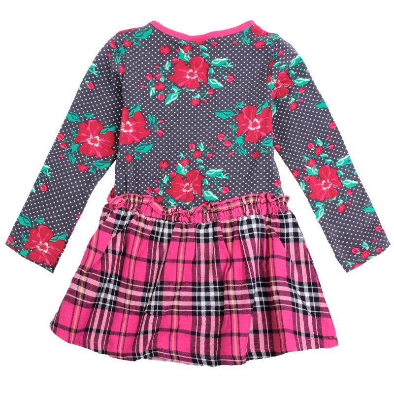 Seasonal Sunny Fashion Flower Girl Dress Crew Neck Multi Dresses