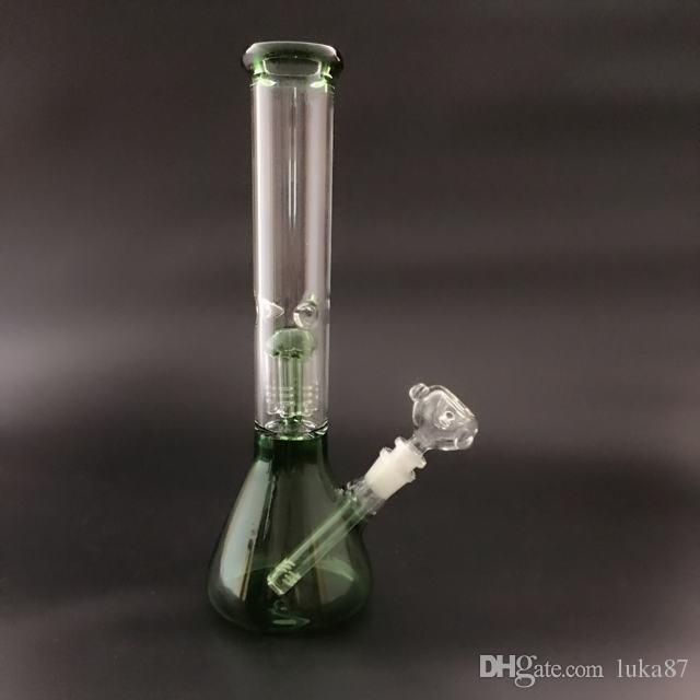Cuenco de diamante de alta calzada de la medusa de alta calidad Hookah 1 PERC 16 PULGADA G-305