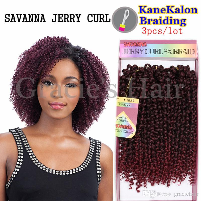 2018 Freetress Crochet Pre Loop Braid Jerry Curl Braids