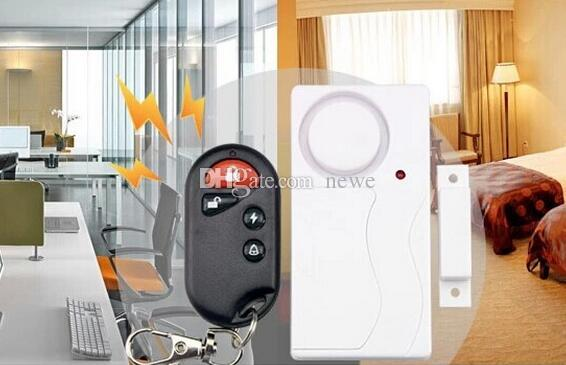 Home Security Wireless Remote Control Vibration Motorcycle Bike Door Window Detector Burglar Alarm