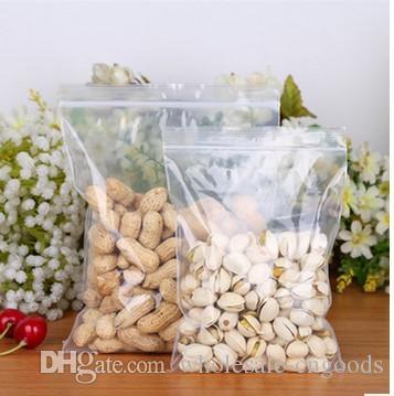 PE 셀프 씰링 가방 비닐 봉지 가방 투명 두꺼운 건조 과일 14cm * 20cm 16 * 24cm 18 * 26cm