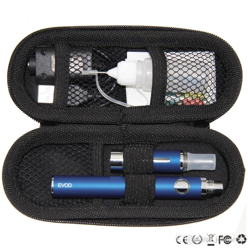MT3 EVOD Starter Kit eGo Reißverschluss-Kits und Zigaretten Cigs 650mah 900mah 1100mah Batterie MT3-Zerstäuber-Dampfverdampfer