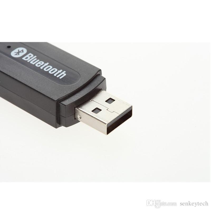 휴대용 usb 블루투스 스테레오 음악 수신기 어댑터 무선 자동차 오디오 3.5 mm 블루투스 수신기 동글 아이폰 스피커 mp3