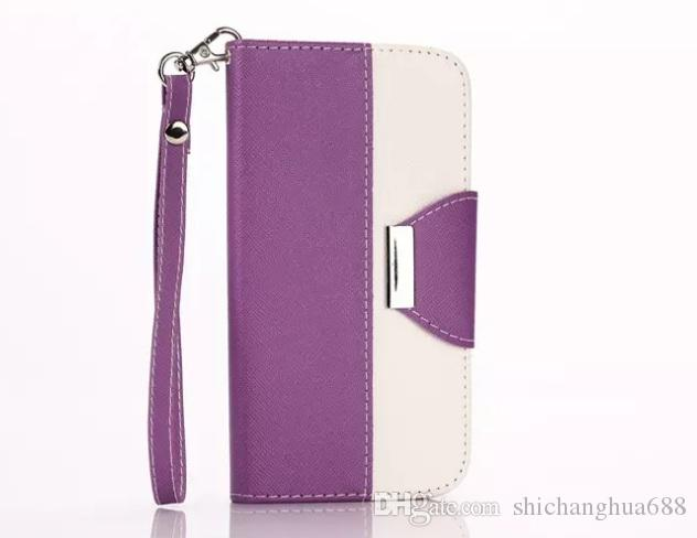 For Apple iPhone 4G 4S 6 6S Plus Luxury Wallet Leather Flip Cover Case ForSamsung Galaxy S3mini/i8190Iphone 5 5c SE