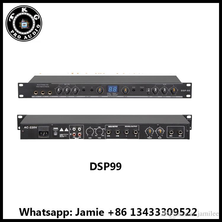 DHL shipping 99 kinds of digital reverb effect professional sound system  dbx DSP99 processor audio processor