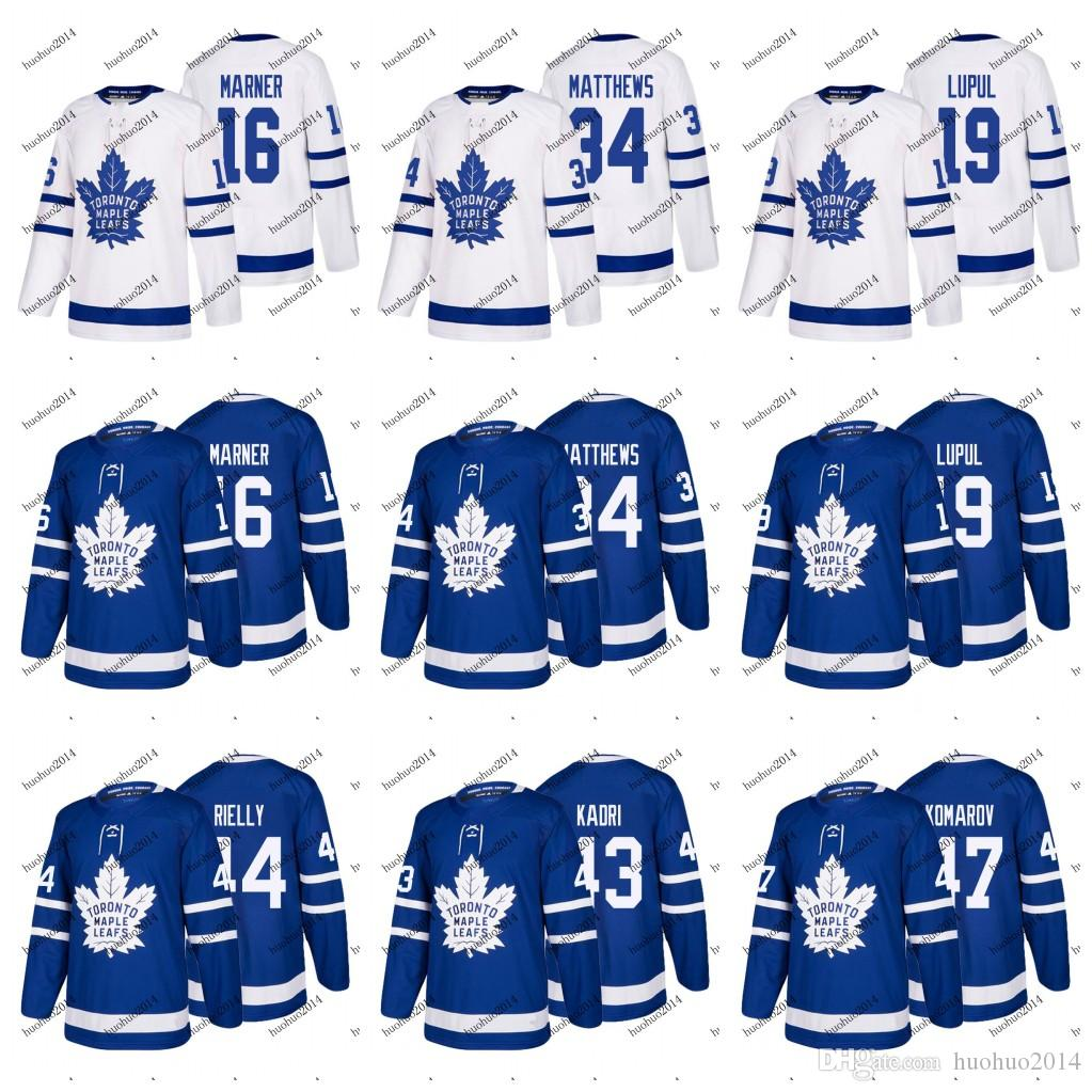 new style 94966 ec4c4 100th Youth Toronto Maple Leafs 2017-2018 Auston Matthews Mitchell Marner  William Nylander PATRICK MARLEAU Frederik Andersen Hockey Jerseys