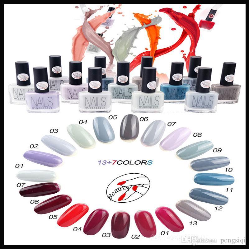 Moda Color Nail Art Marea Altos Elegante Vino Tinto Pulimento De ...