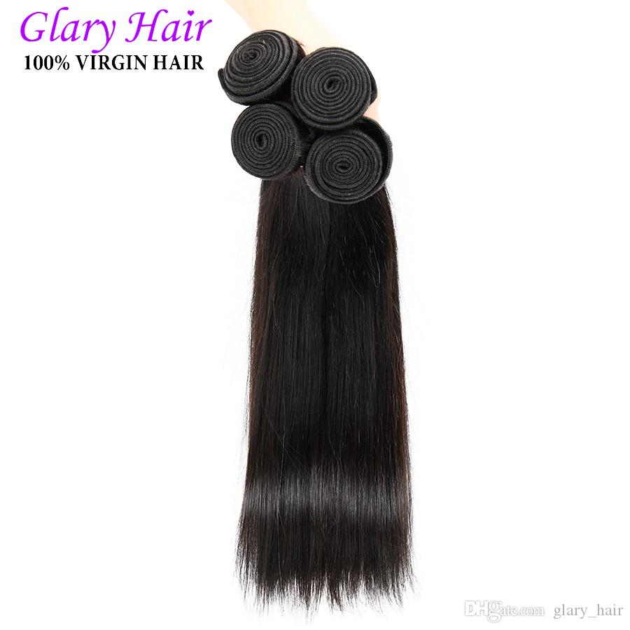 Brazilan Human Hair Peruvian Indian Malaysian Unprocessed Straight And Body Wave 8-30 Inch Best Quality Wholesale