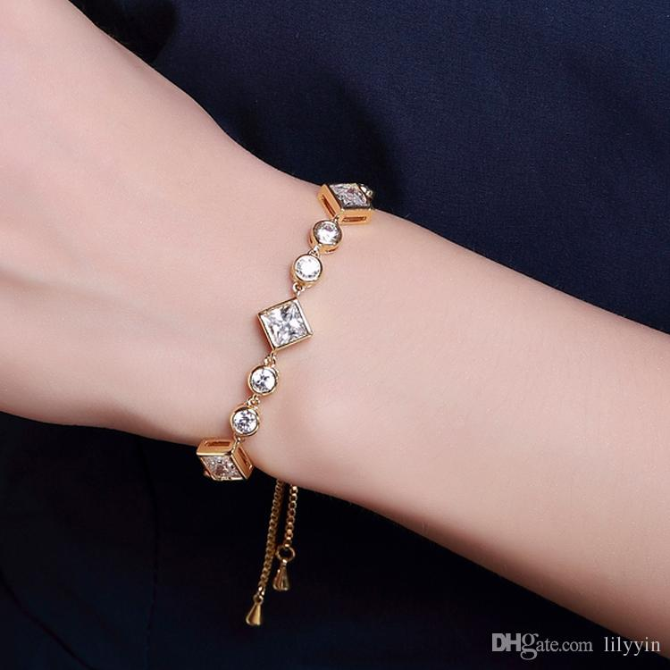 Just Beautiful Bracelet! Free Size The Length Can Adjustable To ...