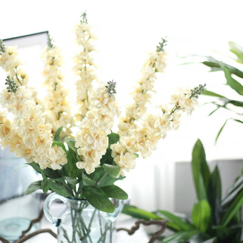 Online Cheap Delphinium Silk Flower Artificial Violet Europestyle ...