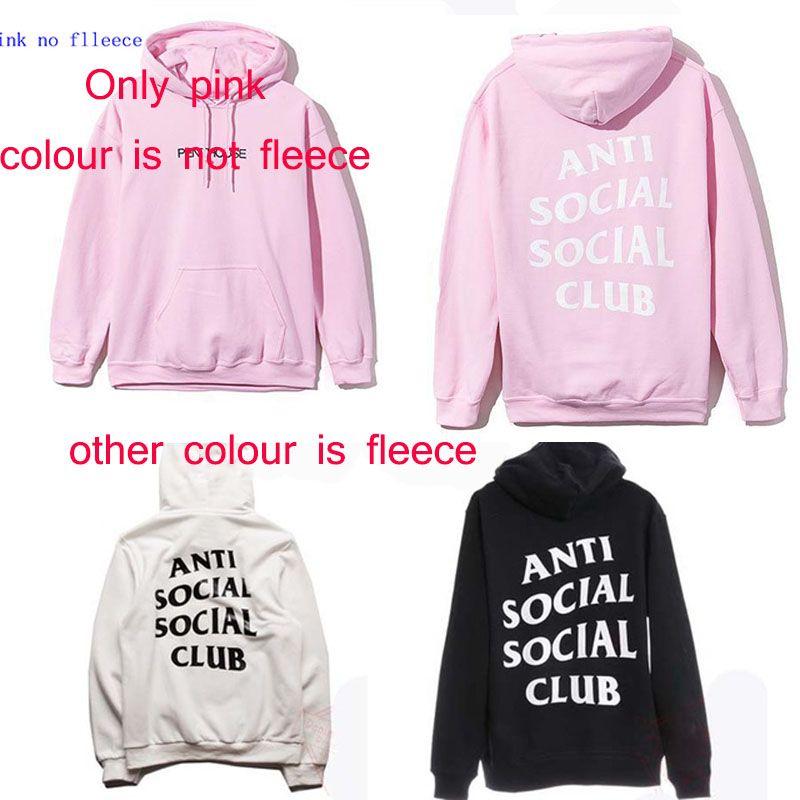 aadf9d136 Wholesale-anti social social club hoodie sweatshirts 2016 newest ASSC  hoodies mens womens trasher hoodies S-3XL