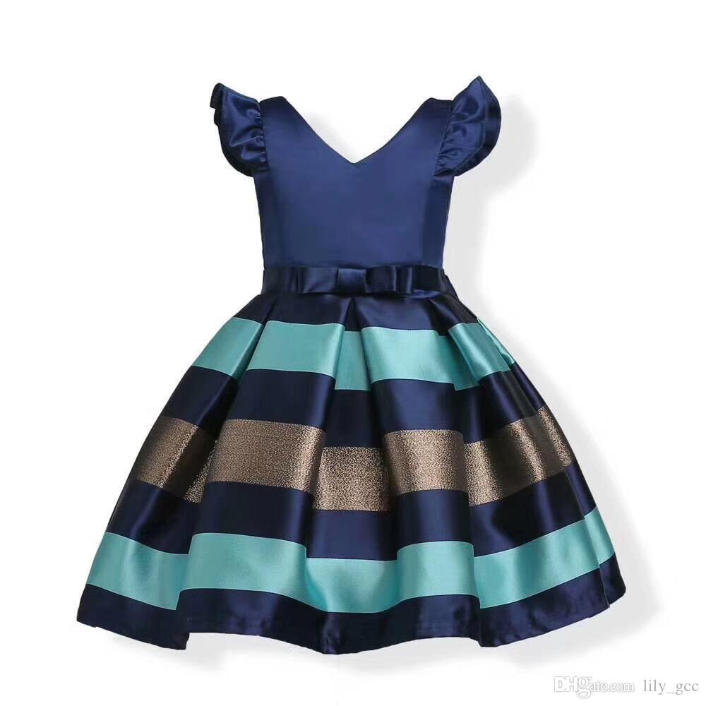 Großhandel Kinder Kleidung Afrikanischen Stil Heißer Verkauf Kleider ...