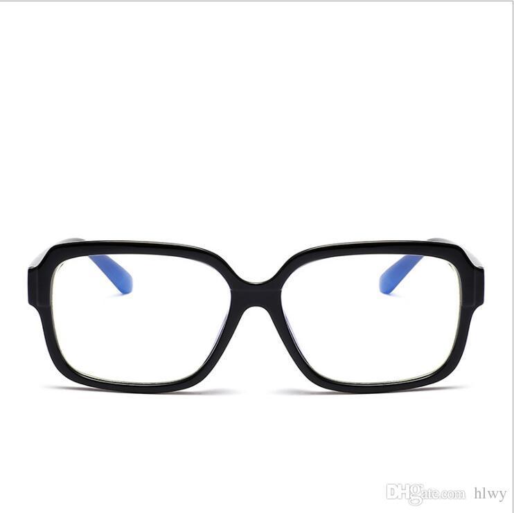 Cossbujue 2017 hommes et femmes du même type de lunettes de protection contre les radiations avec un châssis en PC plat 5218 Lunettes Frames