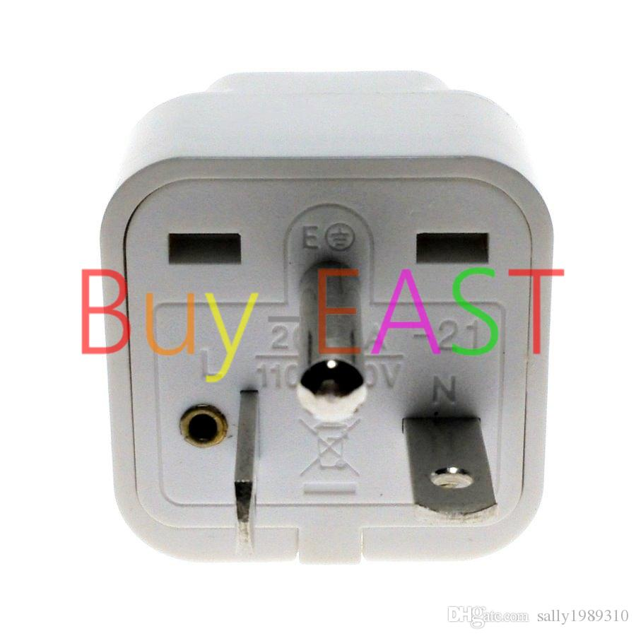 North American USA NEMA 6-20P Electrical Plug Adapter Universal ...