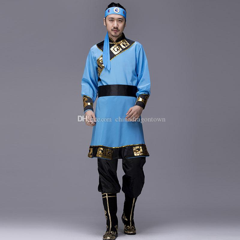 2018 Man Chinese Folk Dance Mongolia Style Dance Wear Male Dance Costumes Spring Festival Stage Performance Wear National Costume Ethnic Clothing From ...  sc 1 st  DHgate.com & 2018 Man Chinese Folk Dance Mongolia Style Dance Wear Male Dance ...