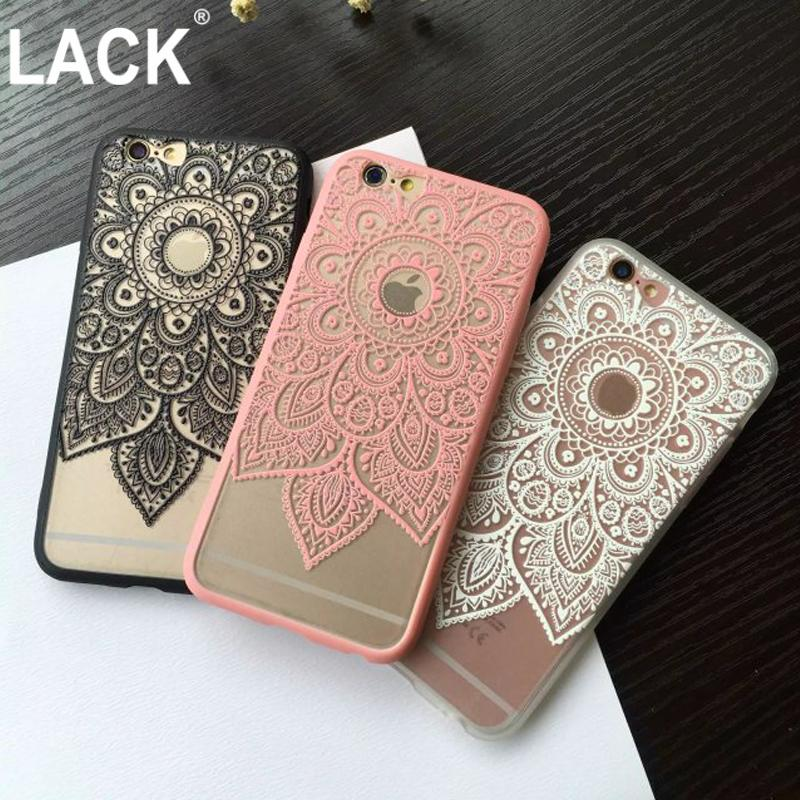 e22a5c811 Sexy Beautiful Datura Floral Phone Cases For Apple Iphone 6 6s Plus Case  For Iphone 7 7Plus Cover Classic Lace Mandala Flower Fundas Canada 2019  From ...