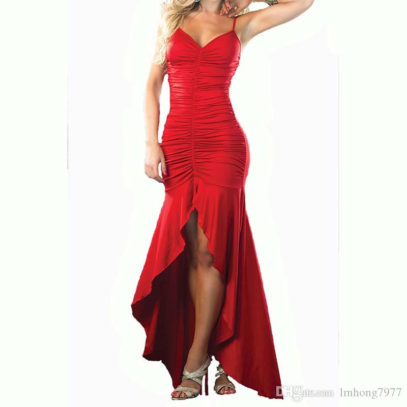 2018 Hot Prom Backless Women Dresses Stunning Evening Dresses Sexy ...