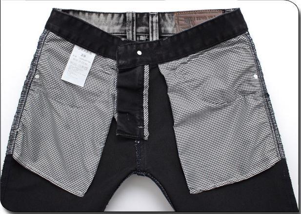 Famous Brand Grau Designer-Mann-beiläufige Biker Jeans Skinny-Jeans-Mode Hosen Pantalones Vaqueros Hombre Vetement Homme