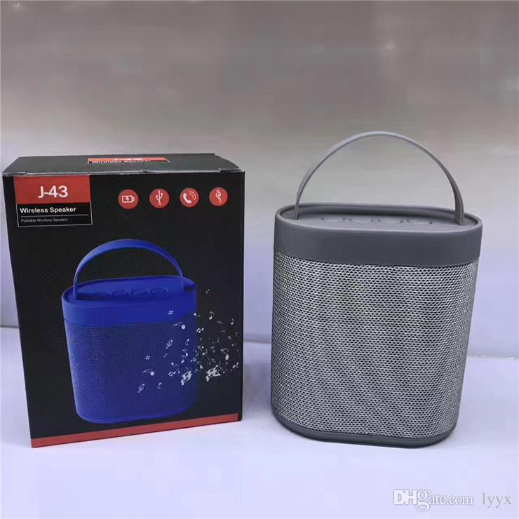 High-end Quality Wireless Bluetooth Speaker J43 Portable Large Portable Metal Bluetooth Audio, The Best Sound Quality, Factory Direct
