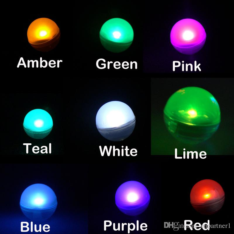 Mini Twinkle LED night Light Battery Operated Berries 2CM Floating LED Ball fairy pearl For Wedding Party Events Decoration Light