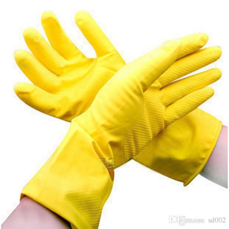 Lesbian in rubber glove