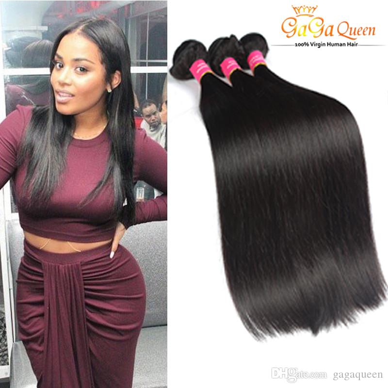 Top Quality Brazilian Virgin Remy Hair Weave High Fidelity Discount