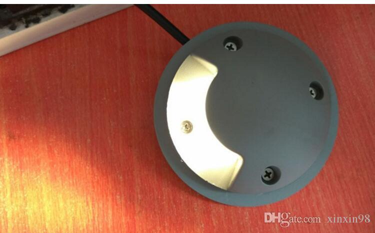 Бесплатная доставка водонепроницаемый открытый 2 Вт светодиодные подземные фонари светодиодные сад свет газон светодиодные угловые лампы нет встроенных