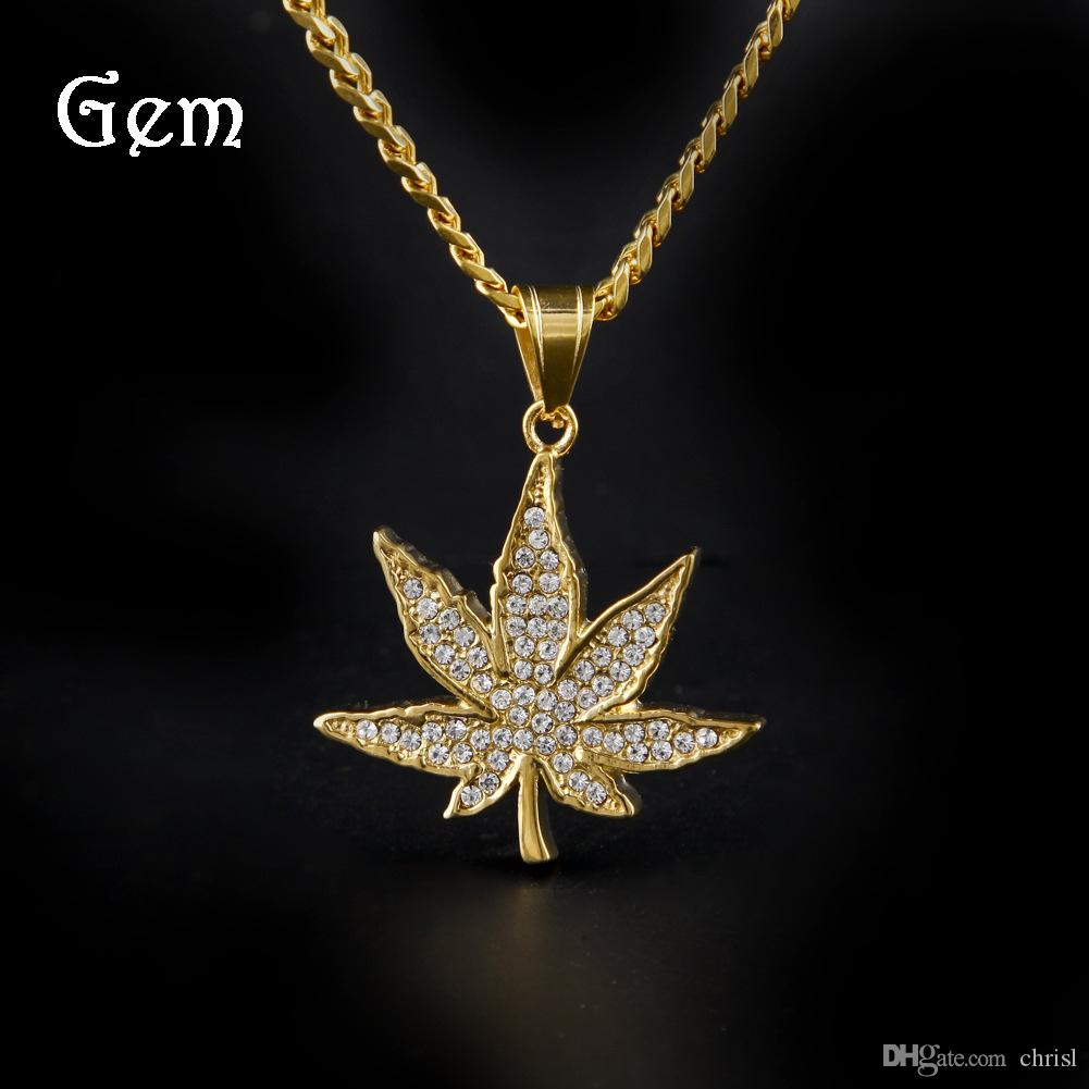 Wholesale golden maple leaf pendant mens diamond marble leaf wholesale golden maple leaf pendant mens diamond marble leaf pendant stainless steel maple leaf hip hop jewelry necklace gold heart pendant necklace owl aloadofball Gallery