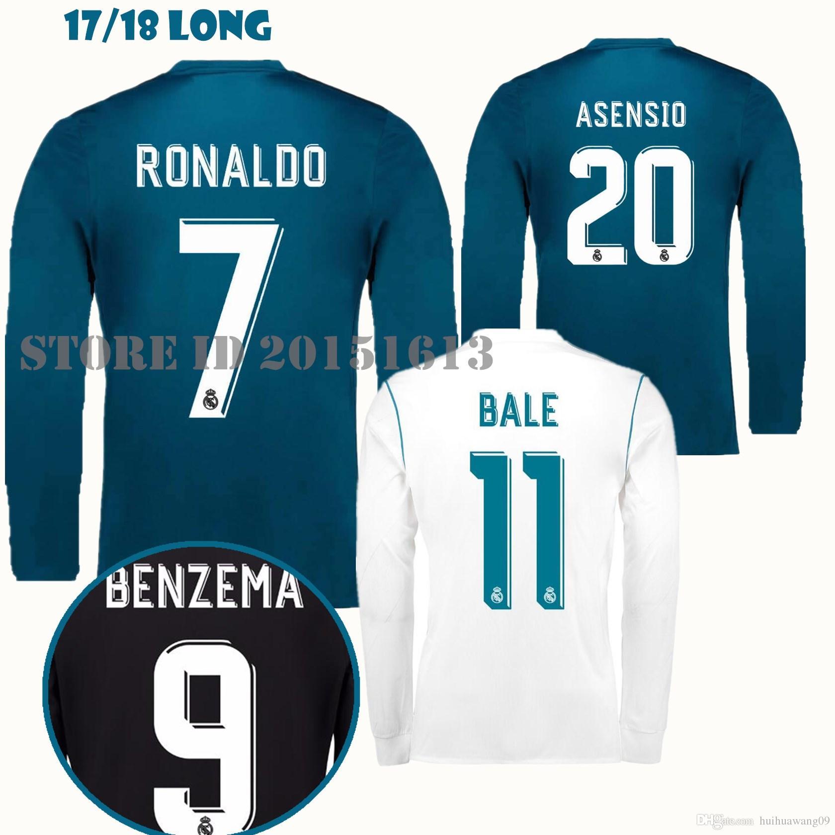 on sale e7311 813bb ronaldo long sleeve