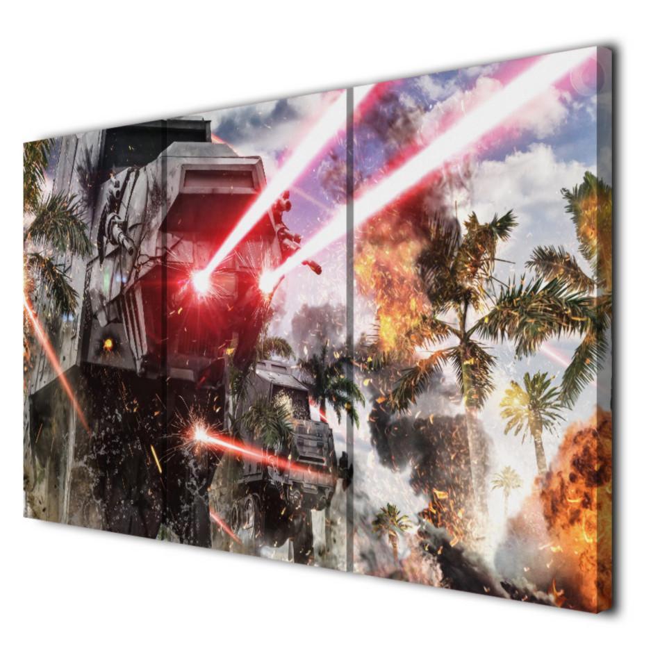Laser Waffe,Home Decor HD Printed Modern Art Painting on Canvas Unframed/Framed