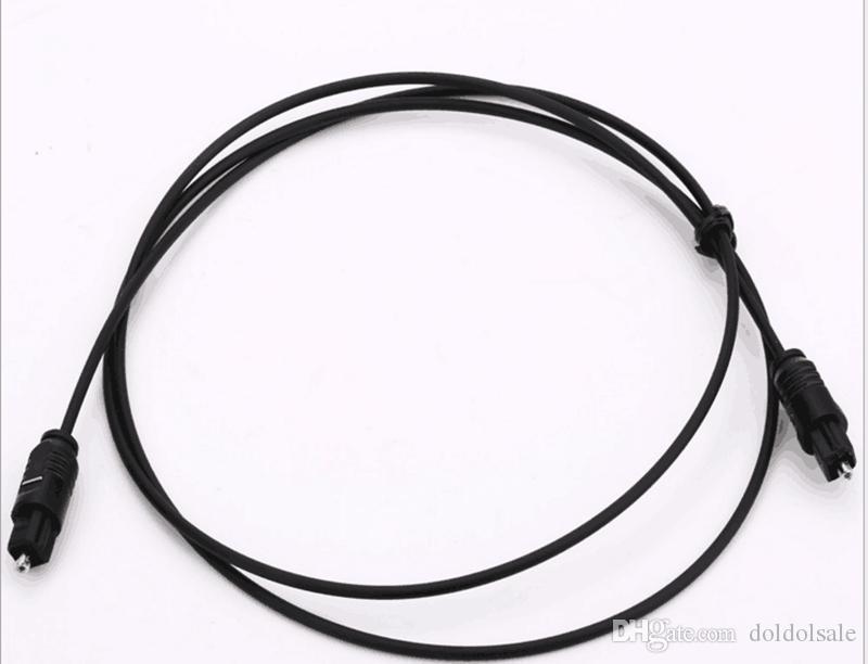 Toslink Dijital Optik Ses Kablosu Tos Bağlantı Uzatma Kurşun Kablo 1 m 1.5 m 1.8 m 2 m 3 m 5 m 8 m 10 m 15 m 20 m