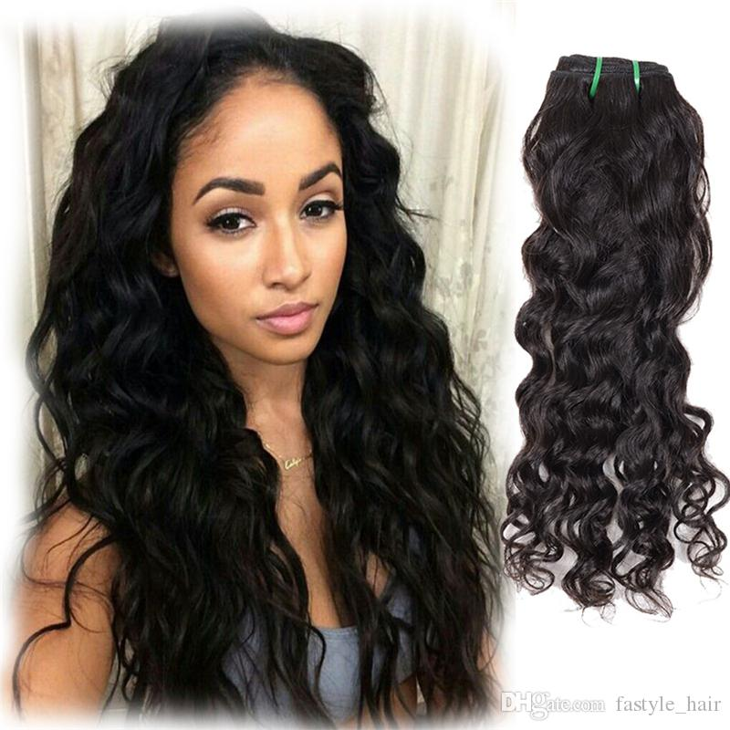 Fastyle Brazilian Natural Wave Hair Extensions Unprocessed Mink