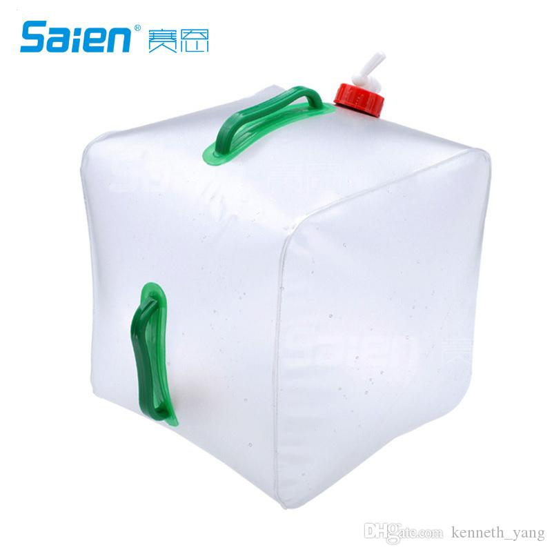 Generic 20l Folding Plastic Bag Outdoor Portable Water Storage ...
