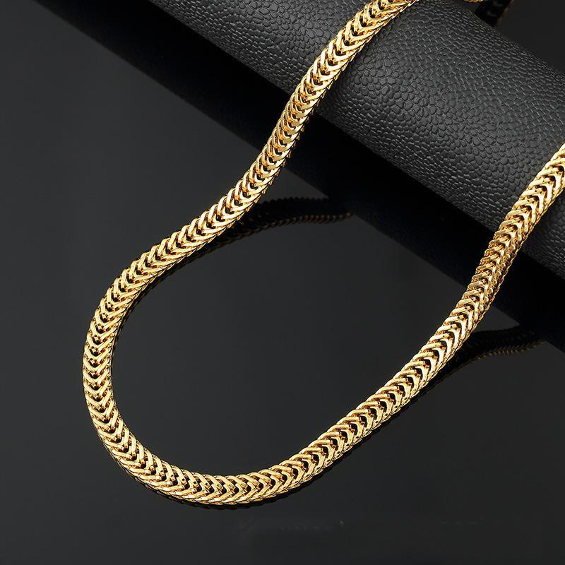10k Gold Franco Bracelet