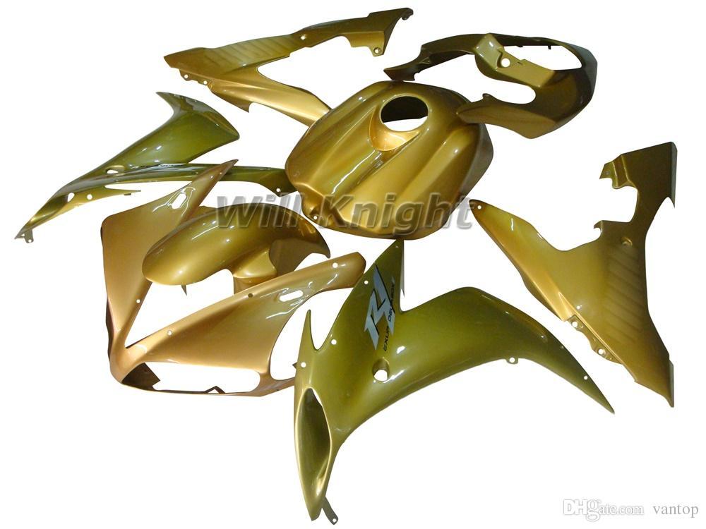 Мотоцикл рамка инъекции плесень полный комплект обтекателя тела для YZF1000 YZF R1 2004 2005 2006 ABS инъекции тела обтекатель комплект черный желтый