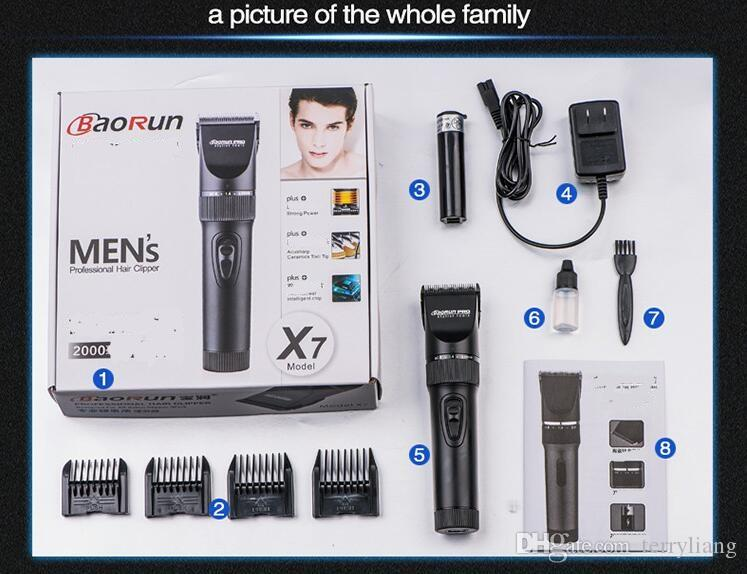 trimmer professionale del tagliatore del dispositivo di rimozione dei capelli di governare del corpo della macchina della taglierina dei capelli del pettine di precisione del rasoio di precisione dell'uomo 0.8mm