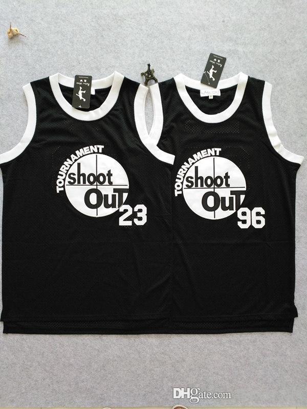 53876e2d32a3 Compre Sobre El Borde Jersey   96 Tupac Shakur Birdie Tournament Shoot Out  Birdmen Basketball Jersey 23 Motaw Negro Camisas Bordadas Para Hombre S XXL  A ...