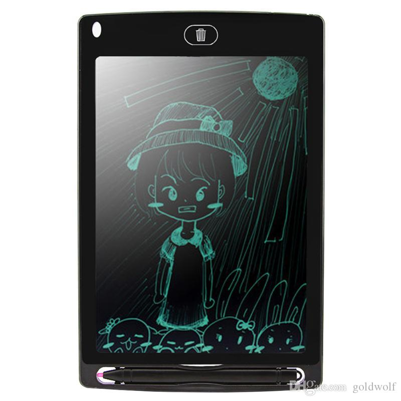 HOT 8.5 inch LCD Writing Tablet Drawing Board Blackboard Handwriting Pads Gift for Kids Paperless Notepad Whiteboard Memo