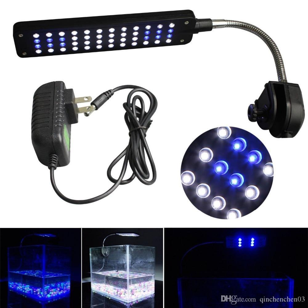 Pour Super Tankswhite Leds Tank Kit 48 Aquarium Bleu Clip Led Lights Lumineux Fish Lampe rBxCdoeW