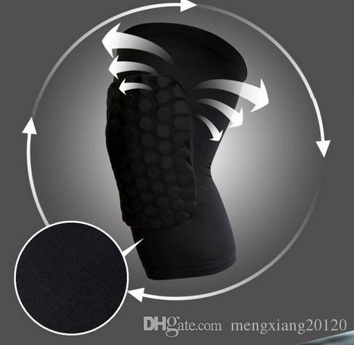 جودة عالية طويلة تمتد حماية الركبة الموالية مستوى الرعاية الرياضية الركبة دعم منصات كرة السلة الساق نيبادس