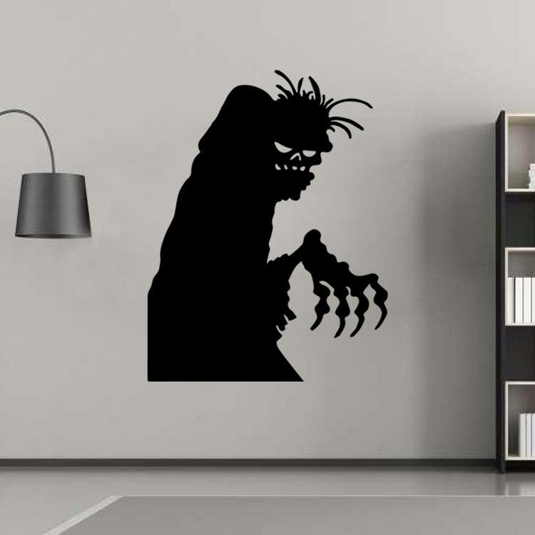 Superieur Aw9464 Halloween Wall Sticker Creative Ghosts Home Decal Custom Bedroom Decoration  Halloween Window Stickers Pvc Wall Removable Decorative Wall Transfers ...