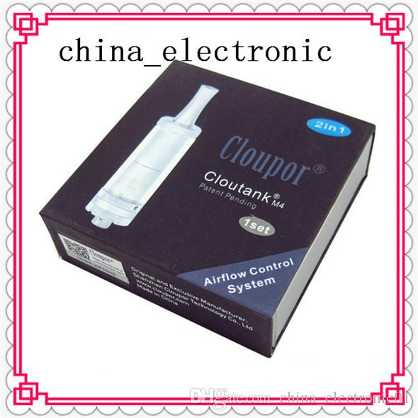 High Quality Cloupor Cloutank M4 Wax Dry Herb Clearomizer 2 in 1 Tank Kit CC Cloutank M3 Yocan 94F Atomizer