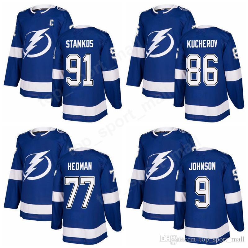 2018 tampa bay lightning 91 steven stamkos jerseys 2018 men ice hockey 77 victor hedman 86 nikita ku