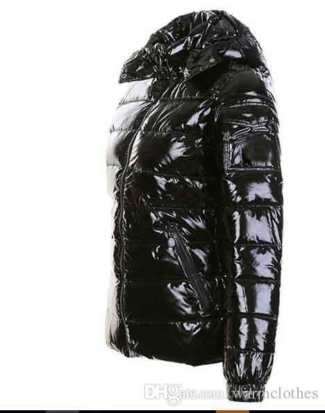 2017 черный тонкий пальто для женщин роскошные xxmoncl бренд парки для женщин зима дамы анорак женщин пальто капот куртка женские куртки