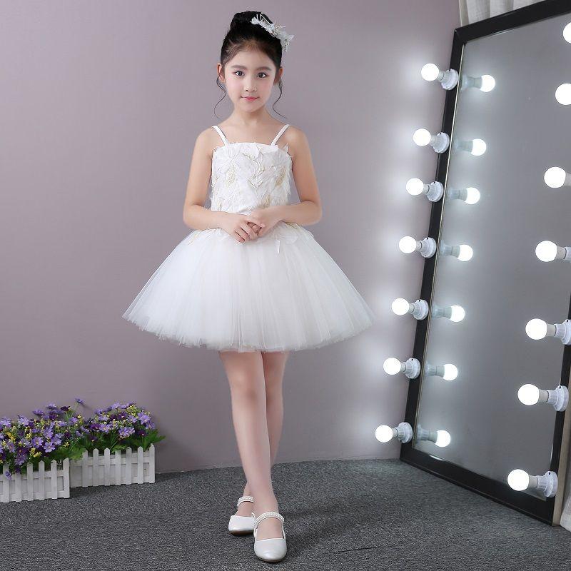 Children\'S Princess Dress Bitter Fleabane Bitter Fleabane Skirt Big ...