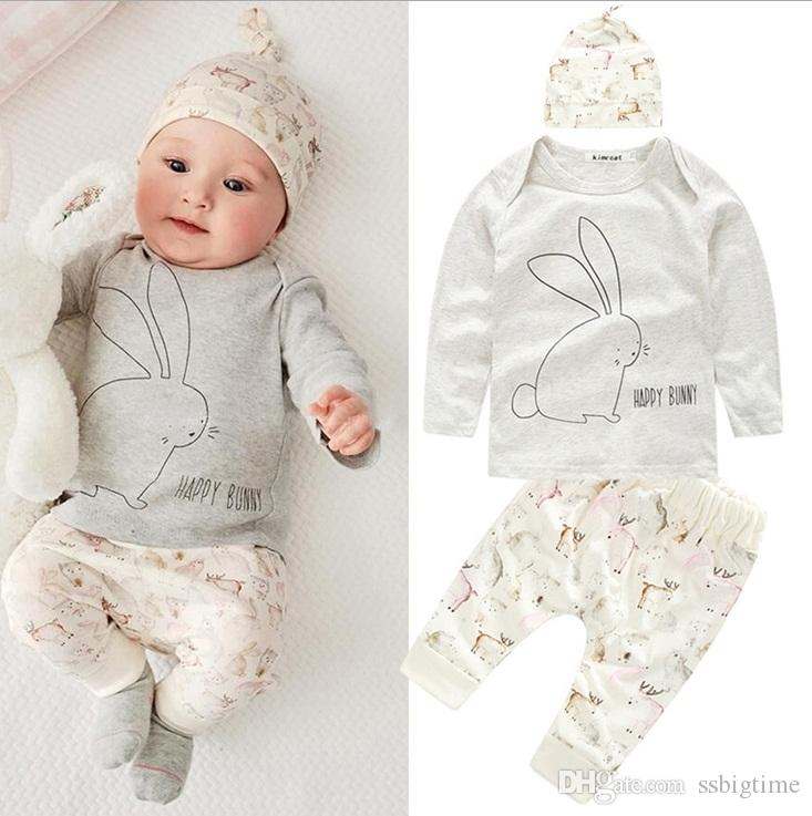ecea27f51 Wholesale Boys Girls Baby Childrens Clothing Sets Long Sleeve ...